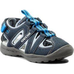 Sandały GEOX - J Vaniett B. A J825XA 015CE C4231 M Navy/Sky. Niebieskie sandały męskie skórzane Geox. Za 199,00 zł.