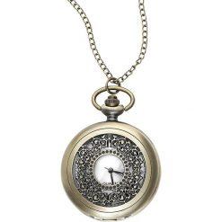 Naszyjniki damskie: Vintage Zegarek – Naszyjnik brąz