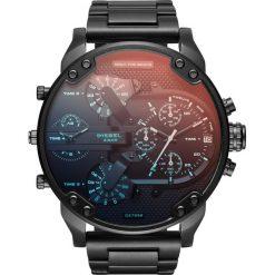 Zegarek DIESEL - The Daddies Series DZ7395 Black/Black. Czarne zegarki męskie Diesel. Za 1649,00 zł.