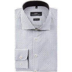 Koszula RICCARDO 15-01-33. Szare koszule męskie na spinki marki S.Oliver, l, z bawełny, z włoskim kołnierzykiem, z długim rękawem. Za 259,00 zł.