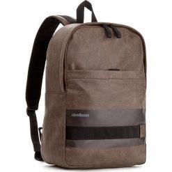 Plecak STRELLSON - Finchley 4010002285 Brown 700. Brązowe plecaki męskie Strellson, z materiału. W wyprzedaży za 219,00 zł.