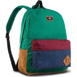 Plecak VANS - Old Skool II Ba VN000ONIWUP Evergreen/Dress Blues. Zielone plecaki męskie Vans, z materiału. W wyprzedaży za 129,00 zł.