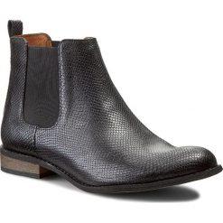 Sztyblety NESSI - 59204 Czarny 21. Czarne buty zimowe damskie marki Nessi, z materiału, na obcasie. W wyprzedaży za 239,00 zł.