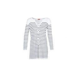 Sukienki krótkie Moony Mood  GARDATEL. Białe sukienki hiszpanki Moony Mood, l, z krótkim rękawem, mini. Za 127,20 zł.