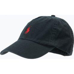 Polo Ralph Lauren - Męska czapka z daszkiem, czarny. Czarne czapki męskie Polo Ralph Lauren, z tkaniny. Za 179,95 zł.