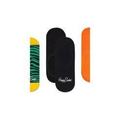 Skarpetki Happy Socks -  3-Pak Liner (ZEB18-7000). Brązowe skarpetki męskie marki NABAIJI, z elastanu. Za 63,90 zł.