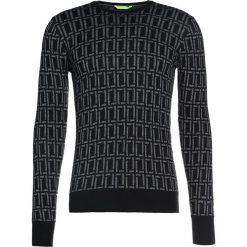 Patrizia Pepe Sweter schwarz. Czarne swetry klasyczne męskie Patrizia Pepe, m, z materiału. W wyprzedaży za 606,75 zł.