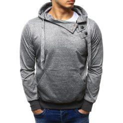 Bluzy męskie: Bluza męska z kapturem szara (bx2278)