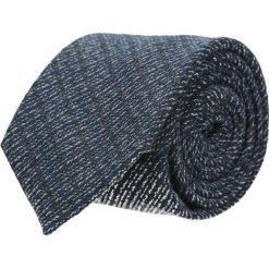Krawat cotton granatowy classic 202. Niebieskie krawaty męskie Recman, z bawełny, eleganckie. Za 59,00 zł.