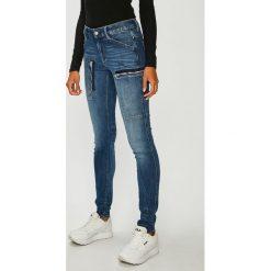 G-Star Raw - Jeansy Powel. Niebieskie jeansy damskie rurki marki House, z jeansu. W wyprzedaży za 599,90 zł.