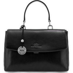 Torebka damska 35-4-055-1. Czarne torebki klasyczne damskie Wittchen, w paski. Za 899,00 zł.