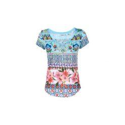 T-shirty z krótkim rękawem Desigual  YUTOL. Szare t-shirty damskie Desigual, s. Za 159,20 zł.