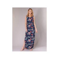 Sukienki długie Vero Moda  VMSIMPLY. Niebieskie sukienki marki Vero Moda, z bawełny. Za 103,20 zł.