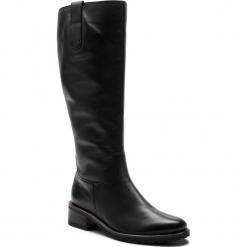 Kozaki GABOR - 96.097.57 Schwarz (Mel.). Czarne buty zimowe damskie Gabor, ze skóry ekologicznej. Za 789,00 zł.