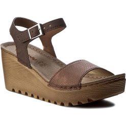 Rzymianki damskie: Sandały INBLU – GT012642 Brązowy