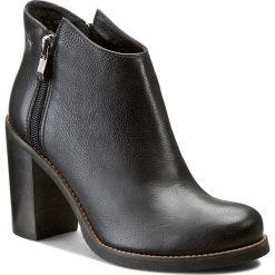 Botki MACCIONI - 312 Czarny Oc. Czarne buty zimowe damskie Maccioni, z materiału. W wyprzedaży za 269,00 zł.