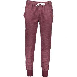 Spodnie dresowe męskie: Spodnie dresowe w kolorze bordowym