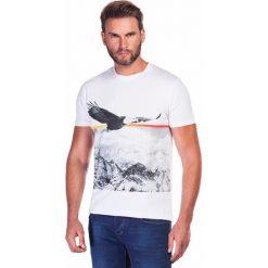 T-shirt STEFANO TSBR000023. Szare t-shirty męskie Giacomo Conti, m, z bawełny. Za 79,00 zł.