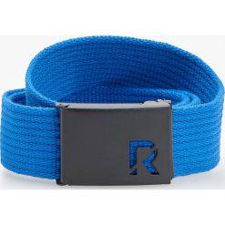 Pasek materiałowy - Granatowy. Niebieskie paski męskie Reserved, w paski, z materiału. Za 29,99 zł.