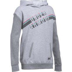 Bluzy sportowe damskie: Under Armour Bluza damska Favorite Fleece Hoody szara r.S (1289970-053)