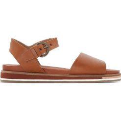Rzymianki damskie: Skórzane sandały OLIMPI