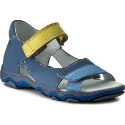 Sandały MIDO - 31-03 Niebieskie. Niebieskie sandały męskie skórzane Mido. W wyprzedaży za 139,00 zł.