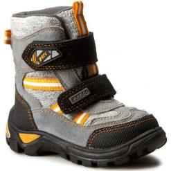 Buty zimowe chłopięce: Śniegowce BARTEK – 91931-98 Szary