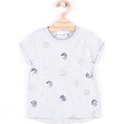 Koszulka. Białe bluzki dziewczęce bawełniane marki COCCODRILLO, m, z okrągłym kołnierzem. Za 34,90 zł.