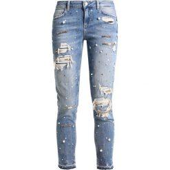 Liu Jo Jeans BOTTOM UP IDEAL  Jeansy Slim Fit denim blue. Niebieskie boyfriendy damskie Liu Jo Jeans. Za 949,00 zł.