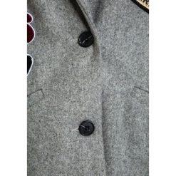 IKKS STREET SHINING Płaszcz wełniany /Płaszcz klasyczny gris chin anthracite. Szare kurtki chłopięce marki IKKS, z materiału. W wyprzedaży za 440,30 zł.