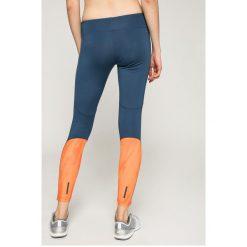 Adidas Performance - Legginsy. Czerwone legginsy skórzane marki adidas Performance, m. W wyprzedaży za 139,90 zł.