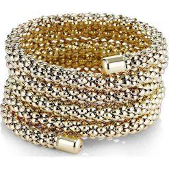 """Bransoletka """"Tina"""" bonprix złoty. Żółte bransoletki damskie na nogę bonprix, złote. Za 29,99 zł."""
