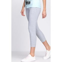 Spodnie dresowe damskie: Szare Spodnie Dresowe Home