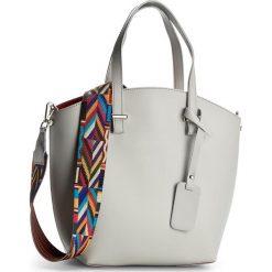 Torebka CREOLE - K10360 Jasny Szary. Szare torebki klasyczne damskie Creole, ze skóry, duże. W wyprzedaży za 219,00 zł.