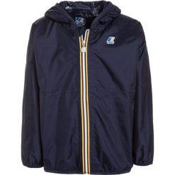 KWay CLAUDE LE VRAI 2.0 Kurtka Outdoor navy blue. Niebieskie kurtki chłopięce przeciwdeszczowe K-Way, z materiału. Za 209,00 zł.