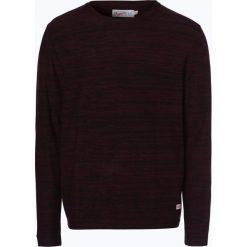 Jack & Jones - Sweter męski, czerwony. Czarne swetry klasyczne męskie marki Jack & Jones, l, z bawełny, z okrągłym kołnierzem. Za 129,95 zł.