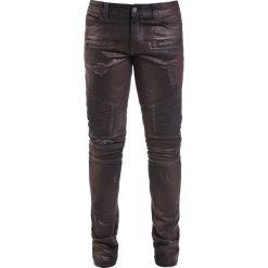 Rurki męskie: Doomsday Red Desert Biker Slim Spodnie bordowy