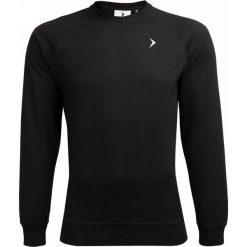 Bluza męska BLM600 - głęboka czerń - Outhorn. Czarne bluzy męskie rozpinane marki Outhorn, na lato, z bawełny. Za 79,99 zł.