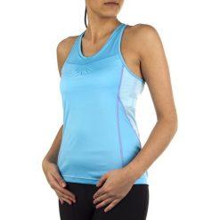 Salomon Koszulka damska Start Impact Tank niebieska r. XL (L35933100). Szare topy sportowe damskie marki Salomon, z gore-texu, na sznurówki, outdoorowe, gore-tex. Za 118,99 zł.