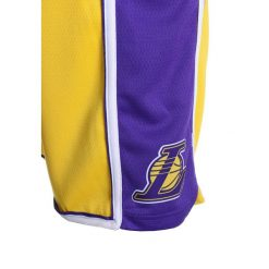 Nike Performance SWINGMAN ICON SHORT  Krótkie spodenki sportowe amarillo. Fioletowe spodenki chłopięce Nike Performance, z materiału, sportowe. Za 159,00 zł.