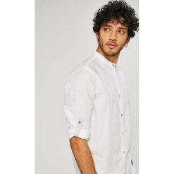 Medicine - Koszula On The Go. Niebieskie koszule męskie na spinki marki Reserved, m, ze stójką. W wyprzedaży za 79,90 zł.