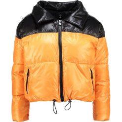 Bomberki damskie: Missguided Petite COCOON EXTREME TONE BUBBLE COAT Kurtka zimowa black/orange