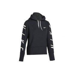 Bluza na zamek z kapturem Gym & Pilates damska. Czarne bluzy rozpinane damskie marki Nike, xl, z jedwabiu, z kapturem. Za 239,99 zł.
