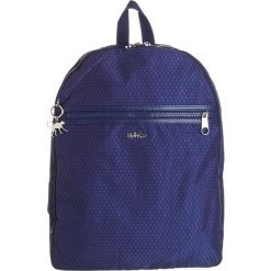 """Plecak """"New Deeda"""" w kolorze granatowym - 32 x 42 x 16 cm. Niebieskie plecaki męskie Kipling, z tworzywa sztucznego. W wyprzedaży za 260,95 zł."""