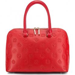 Torebka damska 87-4E-421-3. Czerwone torebki klasyczne damskie Wittchen, w paski, z tłoczeniem. Za 659,00 zł.