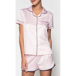 Bielizna nocna: Piżama, satynowa koszulka i spodenki