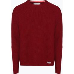 Marc O'Polo Denim - Sweter męski, różowy. Czerwone swetry klasyczne męskie Marc O'Polo DENIM, m, z denimu, polo. Za 349,95 zł.