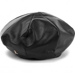 Czapka PATRIZIA PEPE - 2V8428/A483-K103 Nero. Czarne czapki zimowe damskie marki Patrizia Pepe, ze skóry. W wyprzedaży za 619,00 zł.