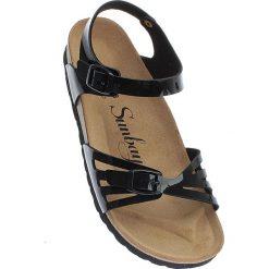 """Rzymianki damskie: Sandały """"Althea"""" w kolorze czarnym"""