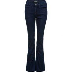Jeansy damskie: Dżinsy ocieplane superstretch BOOTCUT bonprix ciemnoniebieski